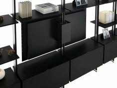 MAGIC MATRIX Libreria con porta tv by YOMEI design André Schelbach