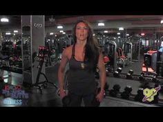 Dumbbell Push Press   FitnessRX for Women