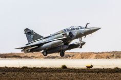 A french Mirage 2000D from 3/3 Ardennes Squadron in Jordania, 2016.