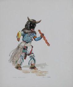 """""""Mosairu-Buffalo Kachina"""""""