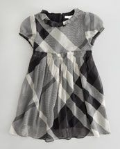 Burberry Beat Check Dress