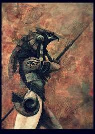 Image result for horus egyptian god art