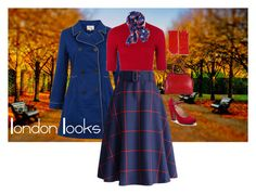 """London Looks 1"" by djalicat on Polyvore featuring Yumi, Topshop, Chicwish, CO, Old Navy and vintage"