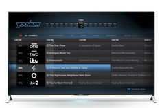 Sony Android tellies get YouView makeover