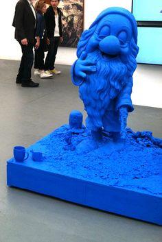 Frieze Art Fair, 5/12. Paul McCarthy, White Snow Dwarf, Sleepy #1 (Midget), 2012. Hauser & Wirth.