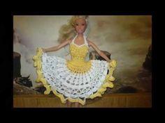 Croche /Vestidinho para barbie 2/1- LiiArt - YouTube