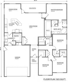 Perry homes floor plans beautiful acacia floor plan home designs & floo Free Floor Plans, Free House Plans, Home Design Floor Plans, Modern House Plans, House Floor Plans, 6 Bedroom House Plans, Perry Homes, Home Inspection, Living Room Designs