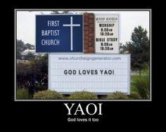 God loves it too