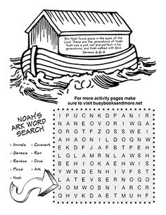 bible activity pages for kids - Children Activity Pages