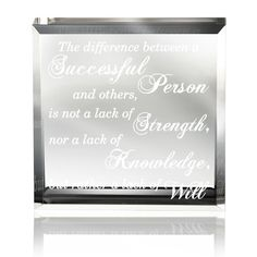 Amazon.com: Kate Posh - The difference between a successful person and others is not a lack of strength, nor a lack of knowledge, but rather a lack of will: Home & Kitchen