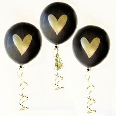 "Forget everything you've ever heard about balloons being ""tacky"" for a wedding — these certainly are not!"