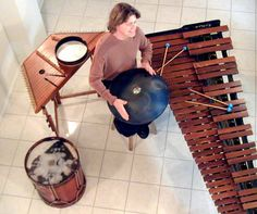 Mark Shelton /Percussionist will be here on Monday June 11 at 11 a.m. Experience a high energy expert playing on several members of the percussion family such as Roto Toms, Cymbals, Electronic   Percussion, Snare Drum, Spoons, Hammered Dulcimer, Doumbec, and Handpan.