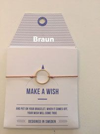 Make a Wish Armband von Mint - curlylotta Berlin