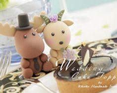 frog Wedding Cake Topperk701 by kikuike on Etsy