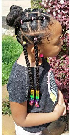 Black Kids Braids Hairstyles, Little Girls Natural Hairstyles, Kids Curly Hairstyles, Baby Girl Hairstyles, Princess Hairstyles, Girl Hair Dos, Afro, Girls Braids, Hair Ideas