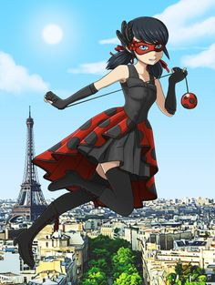 Miraculous Ladybug! Alternative Ladybug Outfit by joy-ling on DeviantArt