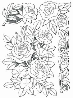 Making A Leather Drawing Book Inspirational Roses Richelieu Idee Drap Brode Leather Carving, Leather Tooling, Leather Bags, Coloring Pages, Coloring Books, Ribbon Embroidery, Embroidery Patterns, Leather Working Patterns, Handmade Books