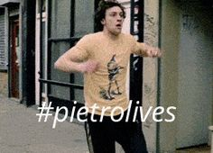*sings at the top of lungs* EVERYTHING IS AWESOOOOOME EVERYTHING IS COOL BECAUSE PIETRO'S ALIVE EVERYTHING IS AWESOMEEEE