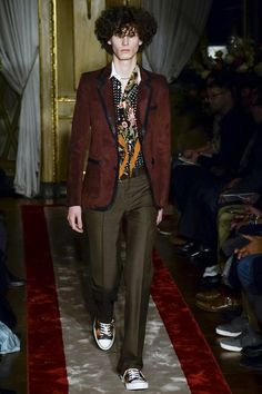 Roberto Cavalli - Autumn/Winter 2016-17 Menswear Milan Fashion Week