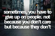 Just walk away from part time people