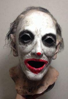 the jokester mask horror scary halloween mask clown vampire jason freddy