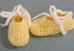 Crochet girl shoes
