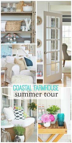 Coastal Farmhouse Style on Pinterest Coastal Farmhouse