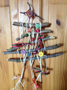 Weaving with Nature Christmas tree