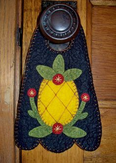 Pineapple Door Hanger by JustJills on Etsy, $17.00
