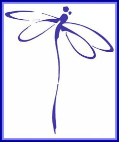 The dragonfly is a symbol of happiness, new beginnings and change <3