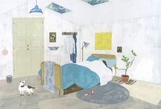 """A Room with a Skylight"" by Fumi Koike"