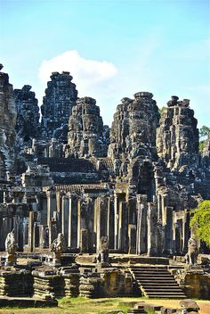 Angkor Thom Siem Reap Cambodia, yet another incredible temple.