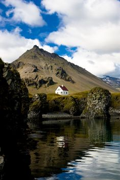 Snæfellsnes, Iceland.  There Is a little restaurant in the middle of the hillside.   eCityLifestyle.com