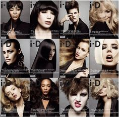 12 ID-Magazine covers styled by Edward Enningful - Ines Gloves