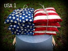 American Flag corn Hole Bags,American Flag cornhole bags,USA Corn Hole Bags,Custom Corn Hole Bags,USA CornHole Bags,vintage flag,top quality by KPuffs88 on Etsy https://www.etsy.com/listing/259045984/american-flag-corn-hole-bagsamerican