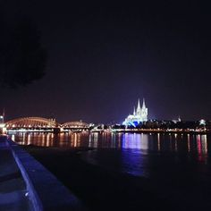 Cologne City Lights #Cologne #CologneCathedral...