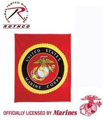 "#USMC #Fleece #Blanket - 50"" x 60"""