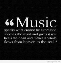Music is a person feelings and desires, it is their heart, it's not just the words put the emotion behind it. If you listen it will speak what cannot be spoken. I just don't understand how some people aren't tuned in. Great Quotes, Quotes To Live By, Life Quotes, Inspirational Quotes, Genius Quotes, Soul Quotes, Quotes Quotes, The Words, Music Lyrics