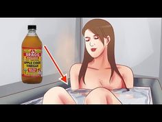 She Dropped Some Vinegar Into Her Bathtub… What Happens To Her Skin After Is Truly Unbelievable - YouTube