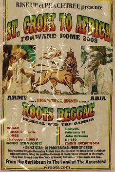 Lions of Kush flier #Abja, #Army in Senegal & Gambia