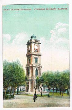 Turkey / Constantinople - Horloge Dolmabagtche - Arct. Armenian Sarkis Balyan