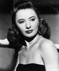 Actress Barbara Stanwyck (1907-1990), date unknown.