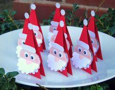 Marca sitios para la mesa de Navidad - Karácsonyra - Klára Balassáné - Álbumes web de Picasa