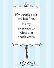 I got skills...