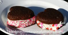 Valentine's Day - Heart Shaped Whoopie Pies + Recipe