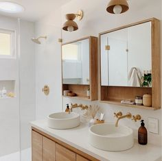 neutral Bathroom Decor Bathroom Renovation Tips from a Designer Who Perfected Her Gut Remodel Neutral Bathroom, Bathroom Inspo, Bathroom Inspiration, Master Bathroom, Bathroom Modern, Bathroom Ideas, Bathroom Designs, Modern Bathroom Furniture, Wood Bathroom Mirror