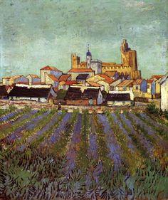 Vincent van Gogh, View of Saintes-Maries, June 1888