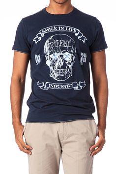 T-shirt coton Epona Marine Diesel sur MonShowroom.com