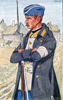 Österreich-Ungarn 1864: Soldat des österr. Inf.-Rgts. Nr. 27. (König der Belgier