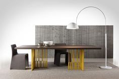 I guess I'm really into yellow. Molteni & C, via designmilk.